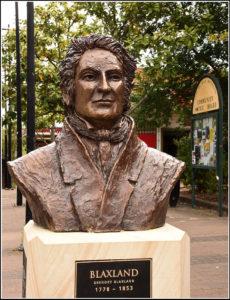 """Blaxland"" Life size bust, cast bronze"