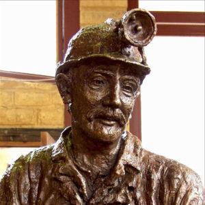 """Cobar Miner Face"" Detail"