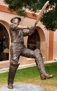 """""""Stan McCabe Sculpture"""" Cast Bronze larger than life mounted in front of the Members Stand SCG, Sydney"""