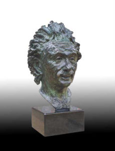 """""""Albert Einstein Bust"""" Commissioned for private collection"""