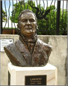 """""""Lawson"""" Life size bust, cast bronze"""